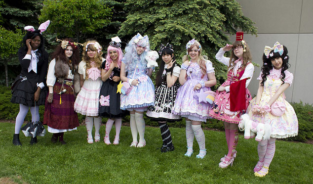 Lolita Fashion Tea Party