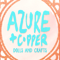 Azure and Copper